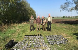 Wood pigeon session at Irlam Manchester April 2019 - before the ban just !!
